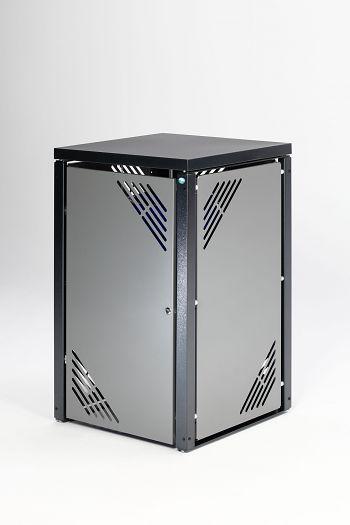 Müllbehälterschrank MBS 1 Grundeinheit mit Deckel