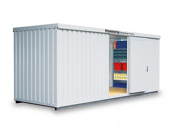 Isolierter Materialcontainer Mod.1600 kompl. montiert mit Isolierboden