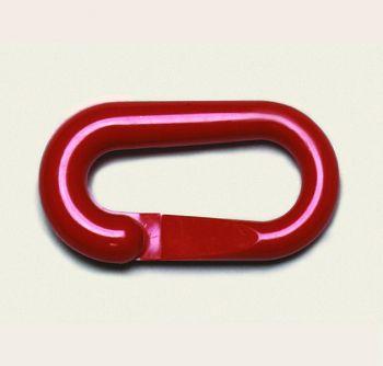 Verbindungsglieder für Sicht- Ketten, 1 VE = 10 Stück, rot
