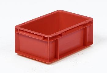 Mehrwegbehälter, 300x200x117mm rot, Boden-u.Seiten geschlossen