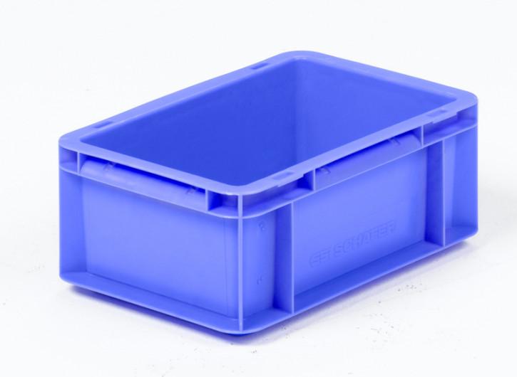 Mehrwegbehälter, 300x200x117mm grau, Boden-u.Seiten geschlossen
