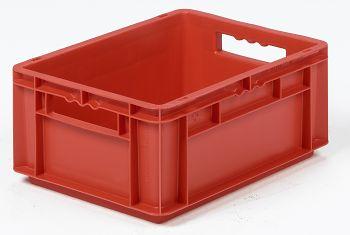Mehrwegbehälter, 400x300x170mm rot, Boden-u.Seiten geschlossen