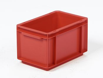 Mehrwegbehälter, 300x200x170mm rot, Boden-u.Seiten geschlossen