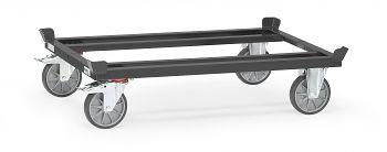 Paletten-Fahrgestell Tragkr. 750 kg Ladefläche LxB: 1210 x 810 mm