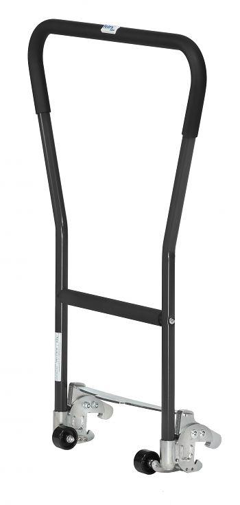 Einklink-Rohrschiebebügel anthrazitgrau RAL 7016