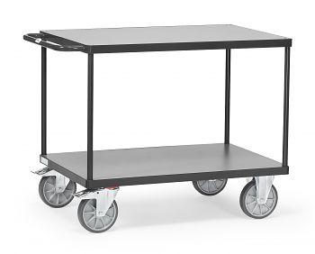 Tischwagen mit 2 Böden,Tragkr. 600 kg Ladefläche LxB: 1200 x 800 mm