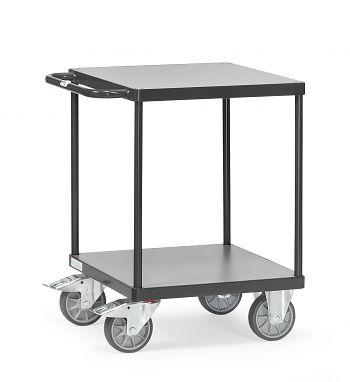 Tischwagen mit 2 Böden,Tragkr. 500 kg Ladefläche LxB: 600 x 600 mm