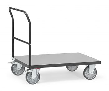 Schiebebügelwagen Tragkr. 600 kg Ladefläche LxB: 1200 x 800 mm