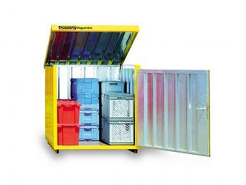 Magazinbox MB 4 mit Bodenrahmen + Sperrholzboden
