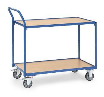Tischwagen mit 2 Böden Ladefläche 850x500mm