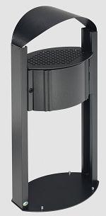 Ascher AG 120 antik-silber HxTxB: 1200 x 350 x 380 mm