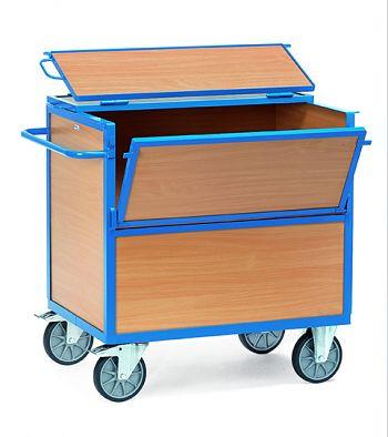 Holzkastenwagen mit Deckel Ladefläche 1000x700mm