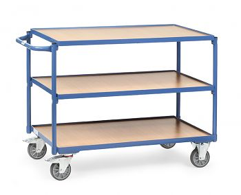 Tischwagen mit 3 Böden Ladefläche 1000x600mm