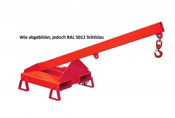 Lastarm starre Ausführung/Neigung 25° Tragkr. 300 - 1000 kg, blau RAL 5012