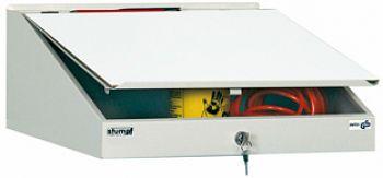 Schreibpultaufsatz, lichtgrau HxBxT 270 x 500 x 500 mm