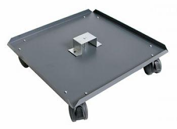 Rolluntersatz 500 x 500 mm mit 4 Lenkrollen
