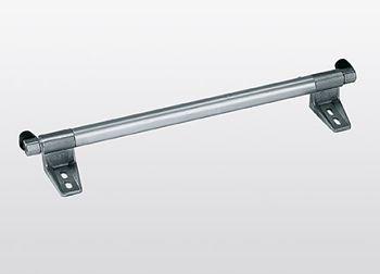 Schienenanlage für Regalleiter Aluminiumrohr, 3 m lang