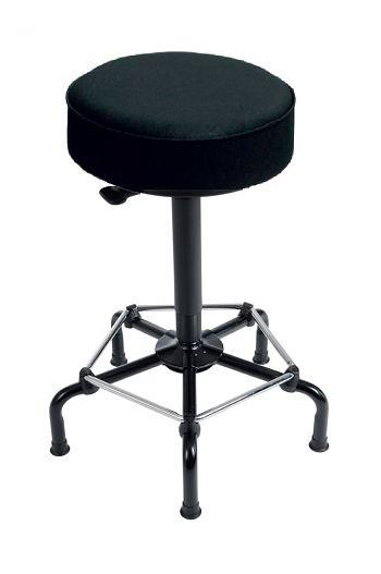 Hocker Sitz anthrazit Mod. 3530 Ringauslösung mit Rundumfußring