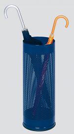 Schirmständer gelocht DxH 270 x 610mm,enzianblau