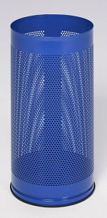 Schirmständer glatt DxH 270 x 610mm,enzianblau