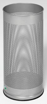 Schirmständer gelocht ØxH 270 x 610 mm, silber