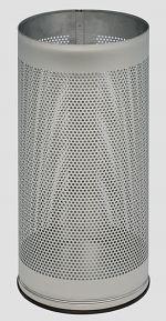Schirmständer gelocht DxH 270 x 610mm, Edelstahl