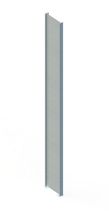 Regalsystem-Rahmen geschl., RAL 7035 3000 x 800 mm
