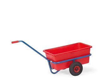 Handwagen mit Kasten,Inhalt 200 Liter Ladefläche L x B  910 x 585 mm