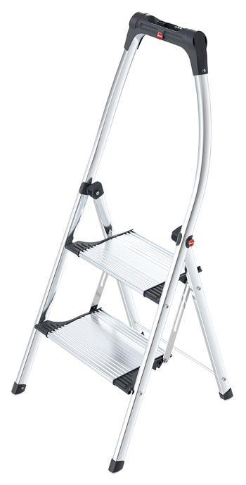 Alu-Komfort-Klapptritt 2 Stufen, Arbeitshöhe: 225 cm