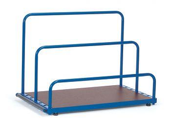 Plattenständer für Einsteck- bügel, Ladefläche 1200x800mm