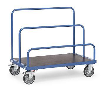 Plattenwagen für Einsteckbügel Tragkr. 750kg 1200x800mm