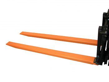 Gabelverlängerung offene Ausführung Zinkenquerschnitt: 80x40 mm,L:1600 mm