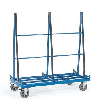 Plattenwagen zweiseitig Tragkr. 1200kg, 1276x2x230mm