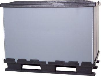 Faltbox 800 x 1200 x 915 mm mit 9 Füßen,ohne Ladeklappe
