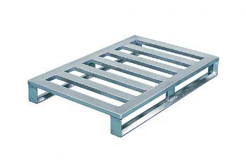 Aluminium Flachpaletten 1200x800x150mm,5 Quersprossen