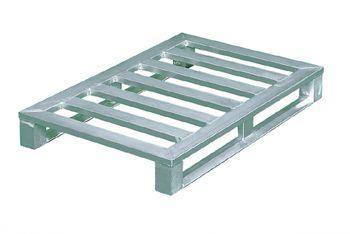 Aluminium Flachpaletten 1200x800x150mm,6 Quersprossen
