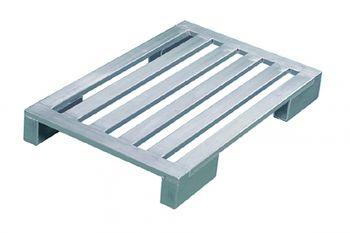Aluminium Flachpaletten 1200x800x150mm,4 Längssprossen