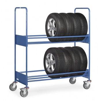 Reifenwagen Tragkr.250kg LxBxH 1540x670x1725mm