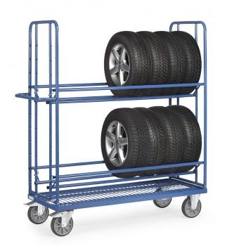 Reifenwagen Tragkr. 400kg LxBxH 1600x620x1800mm