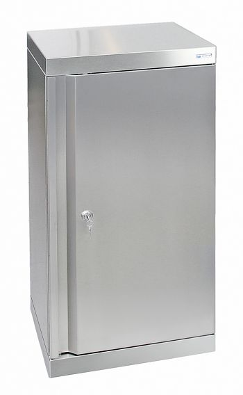 Edelstahlschrank Typ Cabinox HxBxT: 900 x 450 x 400 mm,2 Fachböden