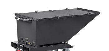 Klappbarer Deckel anthrazit RAL 7016 Kastenmaß LxBxH: 1200 x 652 x 413 mm