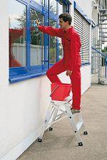 Aluminium-Arbeitspodest 3 Stufen klappbar; Arbeitshöhe ca. 2,70 m