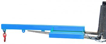 Lastarm starre Ausführung Tragkr. 200 - 1000 kg, blau RAL 5012