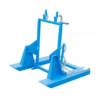 Mülltonnenkipper lack. blau RAL 5012 LxBxH: 1000 x 1200 x 1060 mm