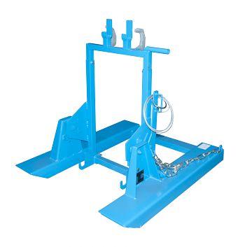 Mülltonnenkipper lack. blau RAL 5012 LxBxH: 1000 x 930 x 925 mm