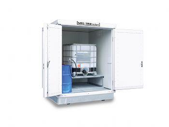 Safetank Typ ST 400 KTC, isoliert BxTxH 2100 x 2170 x 2650 mm, WGK 1-3