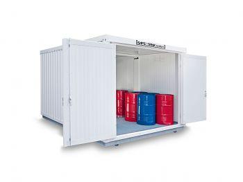 Safetank Typ STI 2000 lack.RAL9002 vormontiert, isoliert