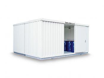 Safetank Typ STI 4000 lack.RAL9002 vormontiert, isoliert