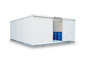 Safetank Typ STI 5000 lack.RAL9002 vormontiert, isoliert