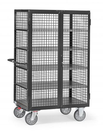 Kastenwagen,5 Böden, Tragkr. 750 kg Ladefläche LxB: 1200 x 780 mm